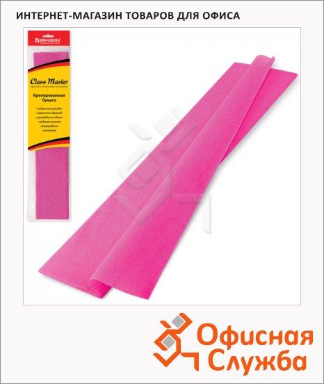 фото: Бумага крепированная Brauberg розовая 50х200см, 25г/м, растяжение до 65%