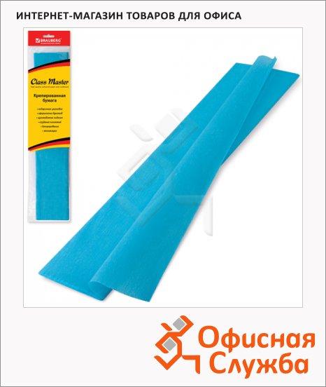 фото: Бумага крепированная Brauberg бирюзовая 50х200см, 25г/м, растяжение до 65%