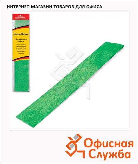 фото: Бумага крепированная Brauberg зеленая 50х100см, 50г/м, растяжение до 35%, металлик