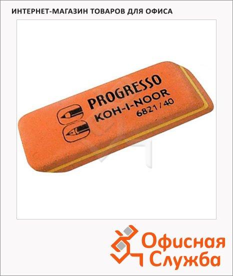 Ластик Koh-I-Noor Progresso 6821/40, комбинированный, для карандаша и ручки