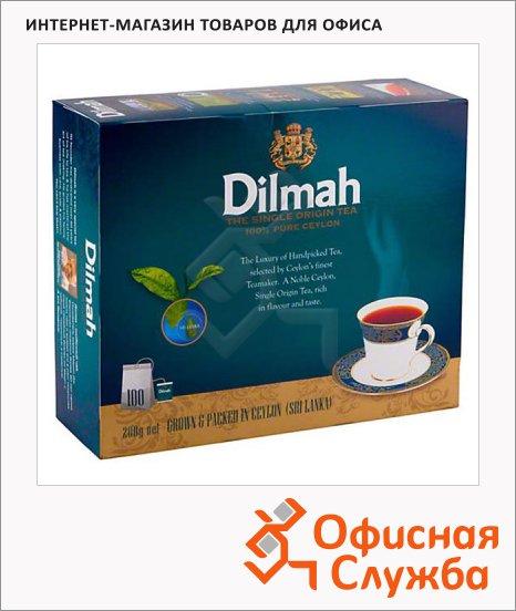 фото: Чай Dilmah Ceylon черный, 100 пакетиков