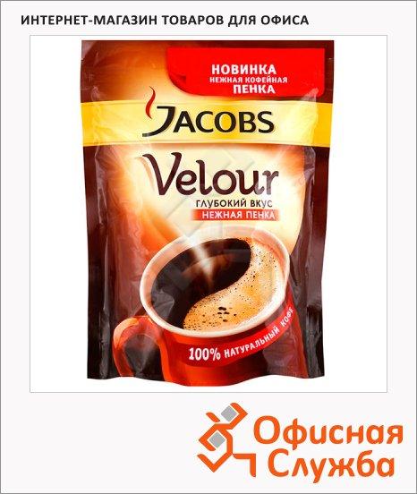 Кофе растворимый Jacobs Monarch Velour 140г, пакет, пакет