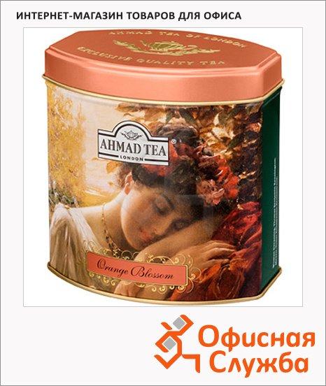 Чай Ahmad Orange Blossom (Цветок Апельсина), черный, листовой, ж/б, 100 г