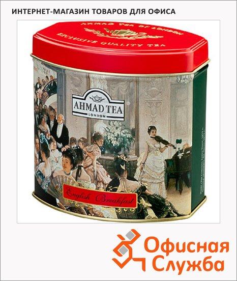 Чай Ahmad English Breakfast (Английский Завтрак), черный, листовой, ж/б, 100 г