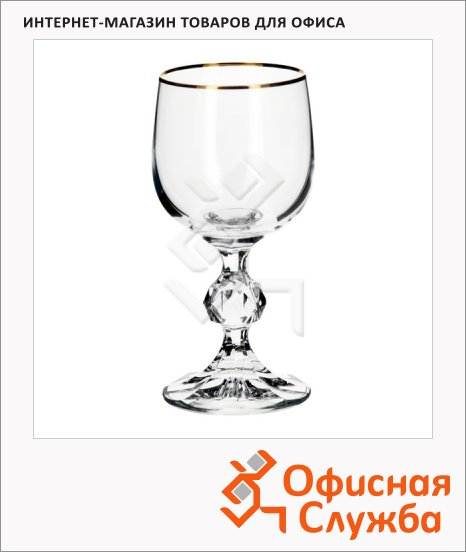 фото: Бокал для вина Bohemia Claudia 150мл 5шт/уп