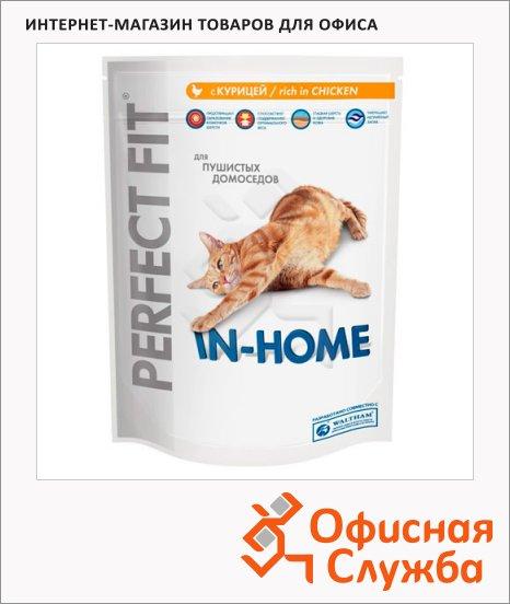 Сухой корм для кошек Perfect Fit In-home с курицей, 1.2кг