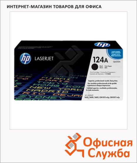 Картридж лазерный Hp №124 Q6000A, черный