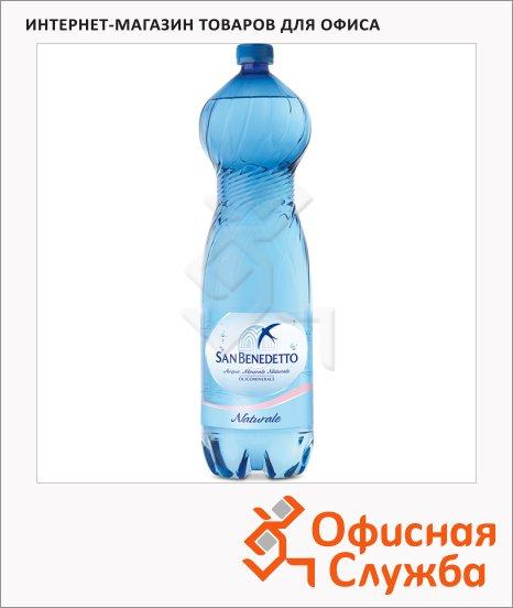 Вода минеральная San Benedetto без газа, 1.5л, ПЭТ