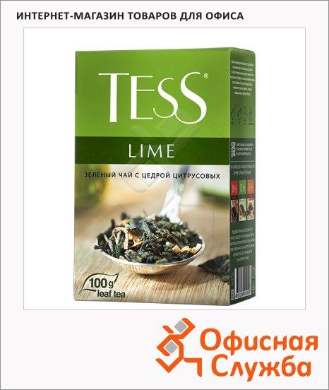 Чай Tess Lime (Лайм), зеленый, листовой, 100 г