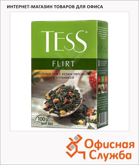 Чай Tess Flirt (Флирт), зеленый, листовой, 100 г