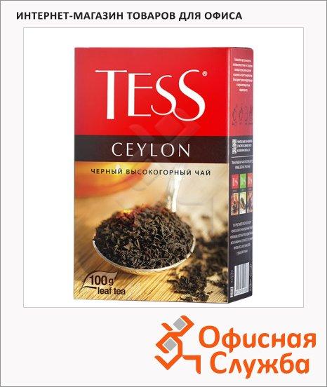 фото: Чай Tess Ceylon (Цейлон) черный, листовой, 100 г