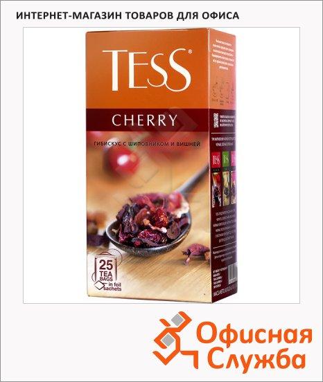 Чай Tess Cherry (Черри), травяной, 25 пакетиков