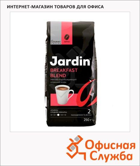 фото: Кофе в зернах Jardin Breakfast Blend (Брэкфаст Бленд) 250г пачка