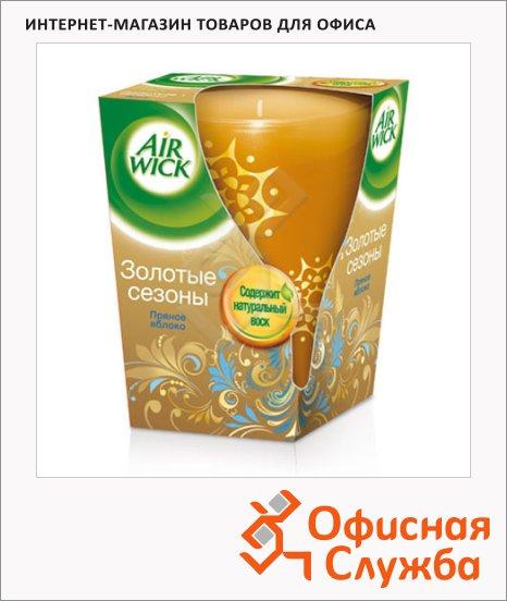 Аромасвеча Air Wick Золотые сезоны с ароматом пряного яблока, 155г