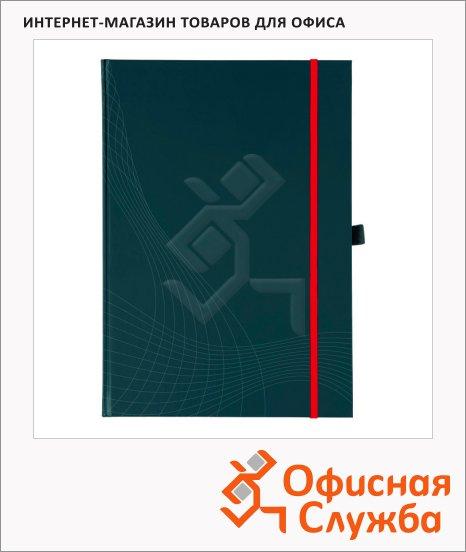 Блокнот Avery Zweckform Notizio Premium 7027, серый, 215x155мм, 90г/м2, 80 листов, А5, в клетку, сатин