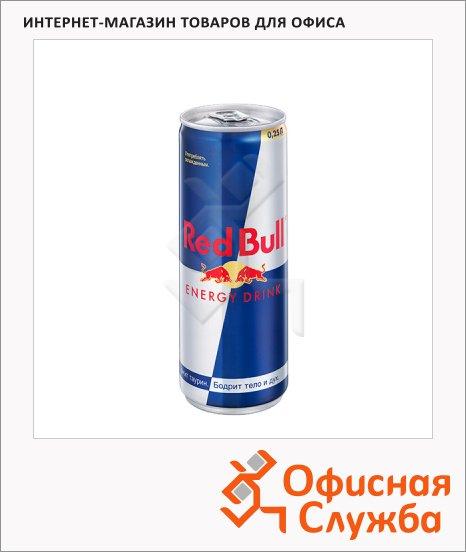 Напиток энергетический Red Bull 0.25л, ж/б