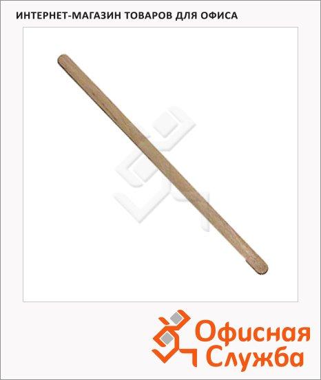 Палочка одноразовая Rioba для размешивания 14см, деревянная, 500шт/уп
