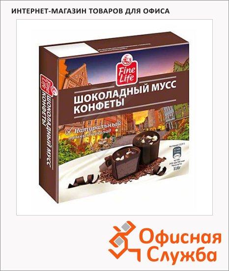 Конфеты Fine Life шоколадный мусс, 116г