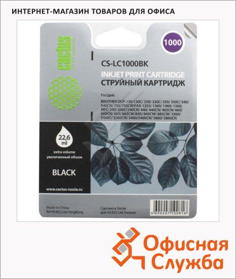 фото: Картридж струйный Cactus CS-LC1000BK черный, 22.6мл