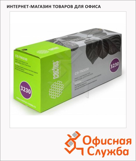 Тонер-картридж Cactus CS-TN3230, черный, 3000 стр