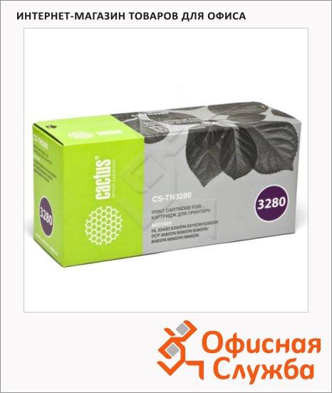 Тонер-картридж Cactus CS-TN3280, черный, 8000 стр