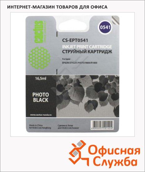 фото: Картридж струйный Cactus CS-EPT0541 16.2мл, черный