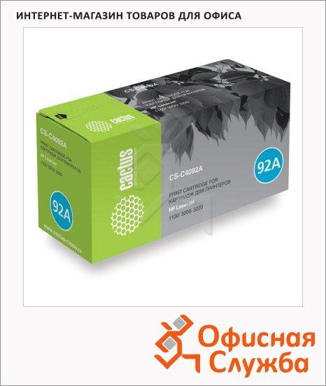 Тонер-картридж Cactus CS-C4092A, черный, 2500 стр