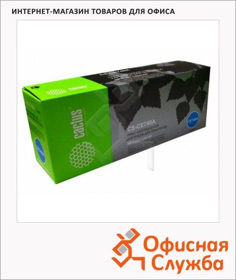 Тонер-картридж Cactus CS-CE740A, черный, 7000 стр