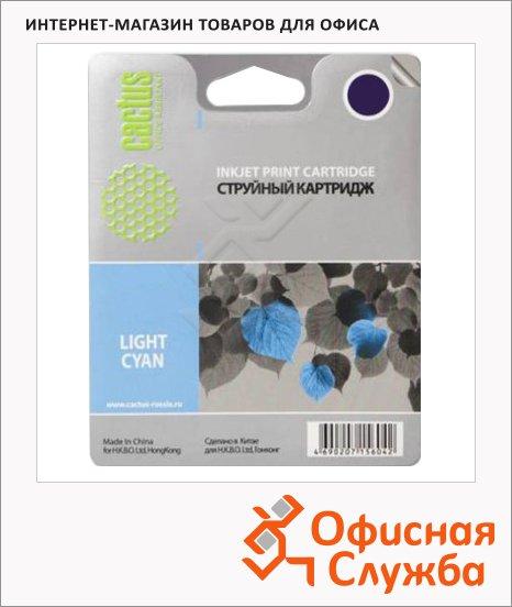 Картридж струйный Cactus CS-C9390 №70, 130 мл, светло-голубой