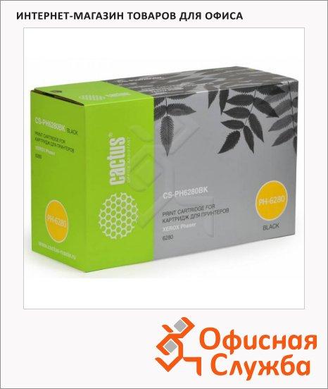 Тонер-картридж Cactus CS-PH6280BK, черный, 7000 стр