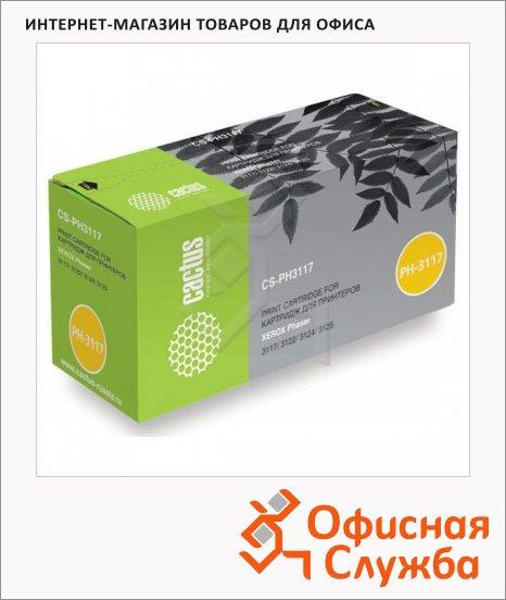 фото: Тонер-картридж Cactus CS-PH3117 черный, 3000 стр