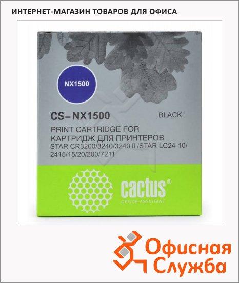 Картридж матричный Cactus CS-NX1500, 2млн. симв., черный