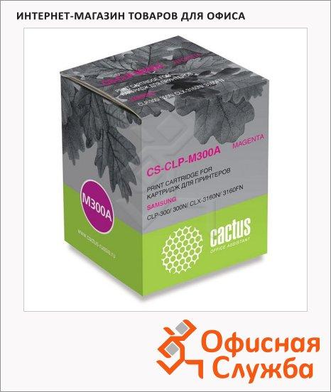 фото: Тонер-картридж Cactus CS-CLP-M300A пурпурный, 1000 стр