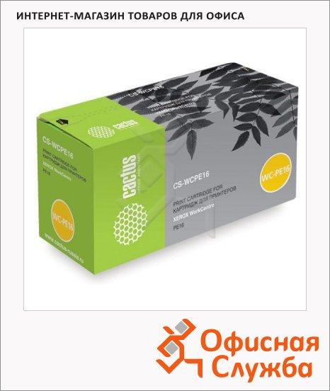 фото: Тонер-картридж Cactus CS-WCPE16 черный, 3500 стр