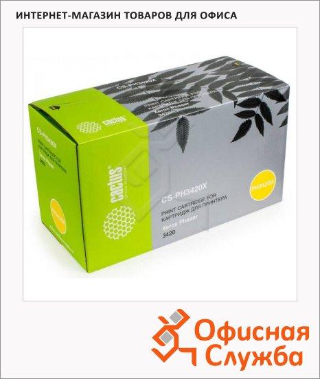 фото: Тонер-картридж Cactus CS-PH3420X черный, 8000 стр