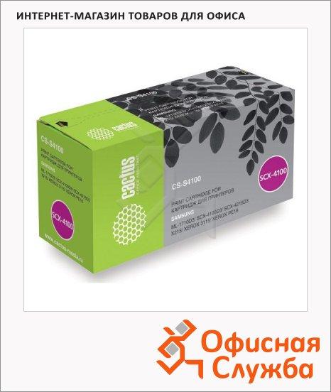 Тонер-картридж Cactus CS-S4100, черный, 3000 стр