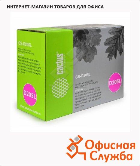 Тонер-картридж Cactus CS-D205L, черный, 5000 стр