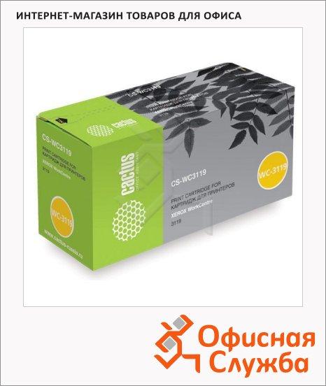 фото: Тонер-картридж Cactus CS-WC3119 черный, 3000 стр
