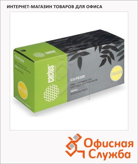 фото: Тонер-картридж Cactus CS-PE220 черный, 3000 стр