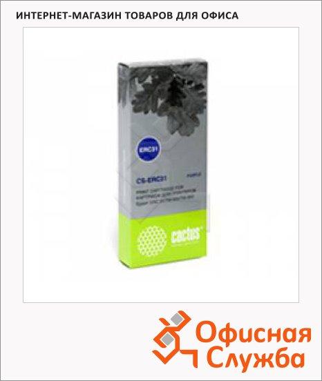 Картридж матричный Cactus CS-ERC31, 3млн. симв., фиолетовый