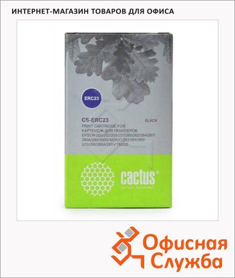 Картридж матричный Cactus CS-ERC23, 1млн. симв., черный