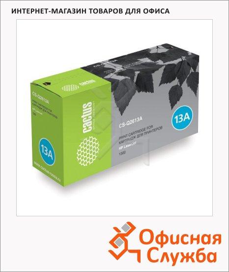 Тонер-картридж Cactus CS-Q2613A, черный, 2500 стр