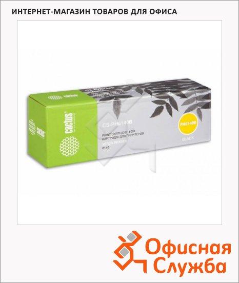 Тонер-картридж Cactus CS-PH6140B, черный, 2600 стр
