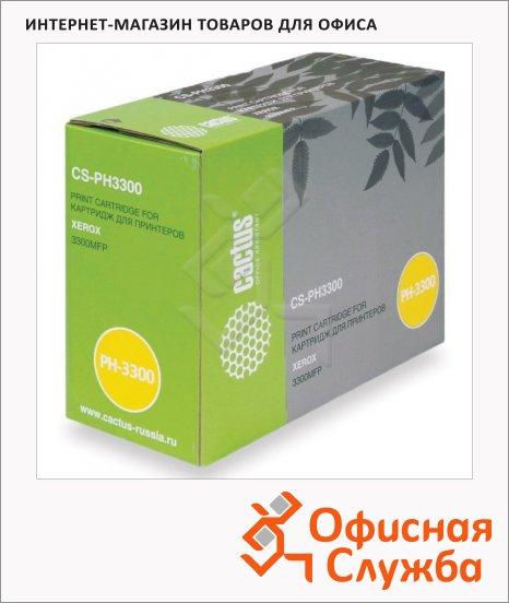 Тонер-картридж Cactus CS-PH3300, черный, 8000 стр