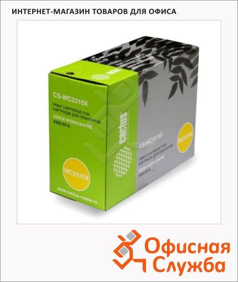 фото: Тонер-картридж Cactus CS-WC3315X черный, 5000 стр