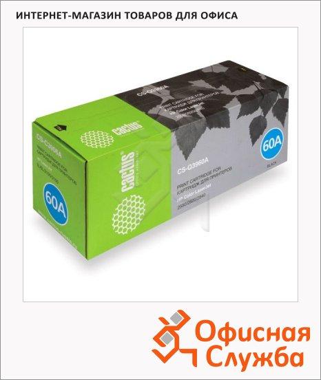 Тонер-картридж Cactus CS-Q3960A, черный, 5000 стр