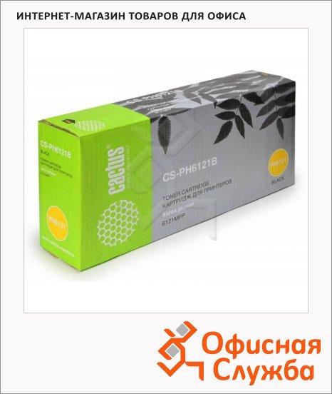 Тонер-картридж Cactus CS-PH6121B, 2600 стр, черный