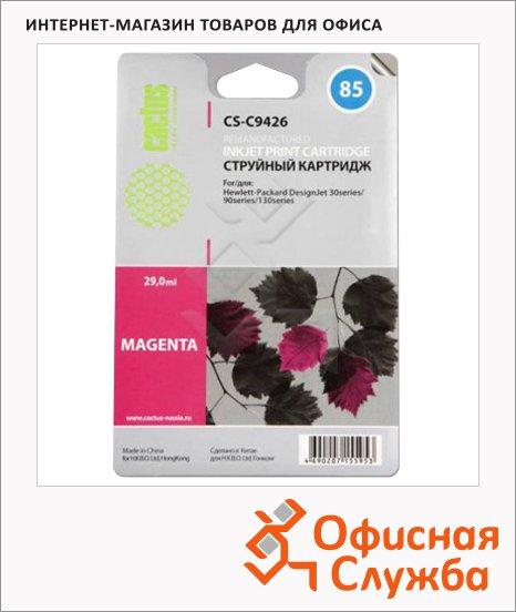 Картридж струйный Cactus CS- C9426 №85, 29 мл, пурпурный