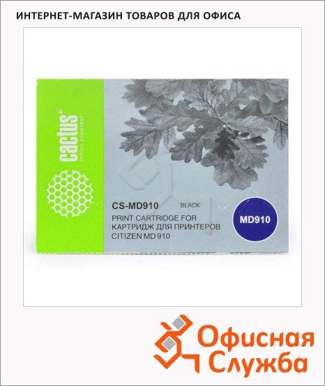 Картридж матричный Cactus CS-MD910, 200 тыс. симв., черный
