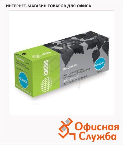 фото: Тонер-картридж Cactus CS-Q6000A черный, 2500 стр